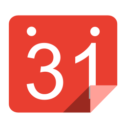 Utilities calendar red icon