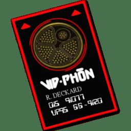Vid phon card icon