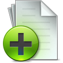 Document Add icon