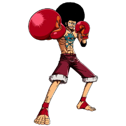 Affro Luffy icon