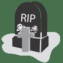 Graveyard rip icon