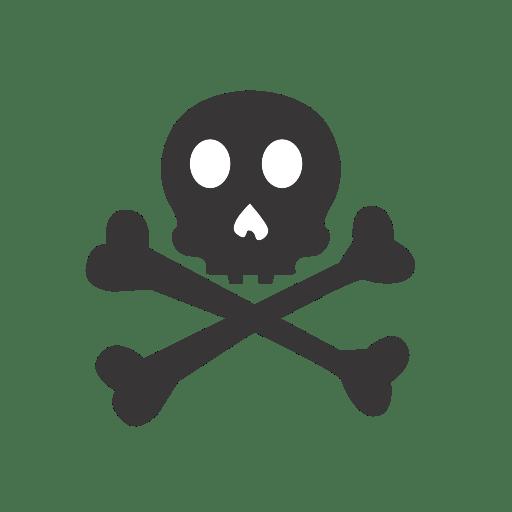 Skull-crossbones icon