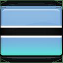 Botswana Flag icon