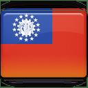 Burma Flag icon