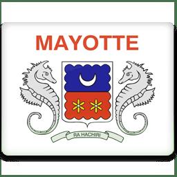 Mayotte Flag icon