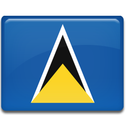 Saint Lucia Flag icon