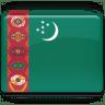 Turkmenistan-Flag icon