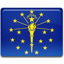 Indiana Flag icon
