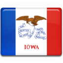 Iowa-Flag icon