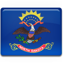 North Dakota Flag icon