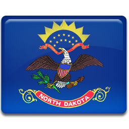 North Dakota Flag icon
