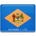 Delaware-Flag icon