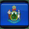 Maine-Flag icon