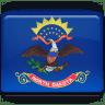 North-Dakota-Flag icon