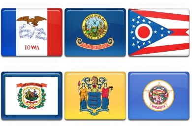 American States Icons