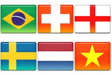 Flag 3 Icons