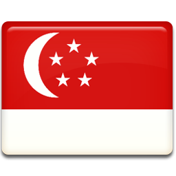 Singapore Flag Icon Flag Iconset Custom Icon Design