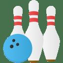 Sport bowling icon