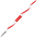 Sport javelin icon
