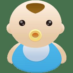 Baby Boy Icon Flatastic 10 Iconset Custom Icon Design