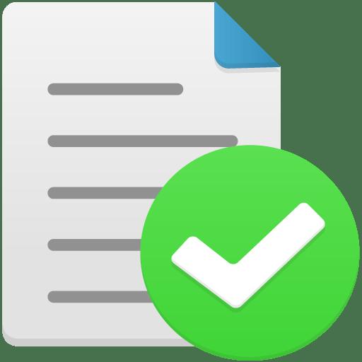 File-complete icon