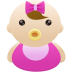Baby-girl icon