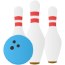 Sport-bowling icon