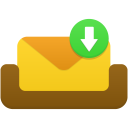 Mailbox-receive-message icon