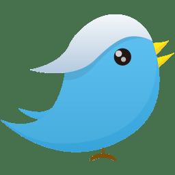 Twitter 1 Icon Flatastic 11 Iconset Custom Icon Design