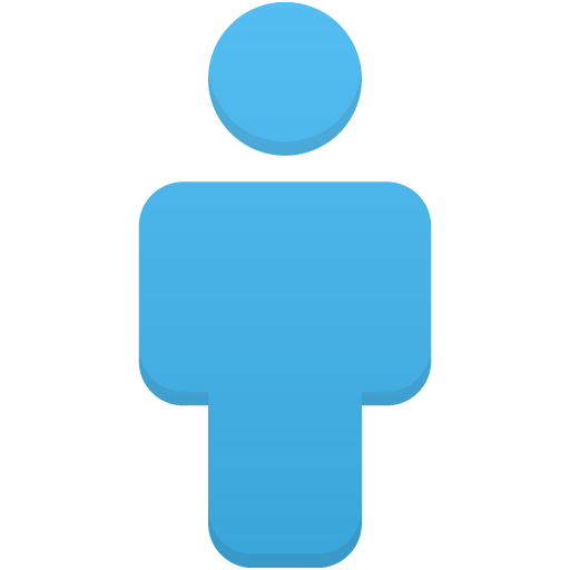 User-blue icon