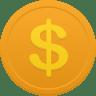 Coin-us-dollar icon
