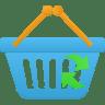 Shopping-basket-refresh icon