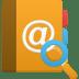 Addressbook-search icon
