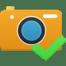 Camera-accept icon
