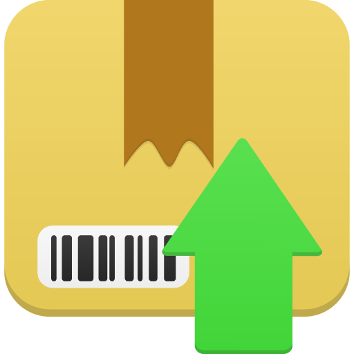 Package upload icon