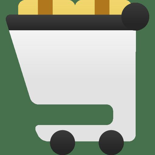 Shopping-cart-full icon