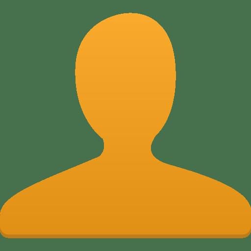 User-orange icon