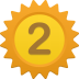 Number-2 icon