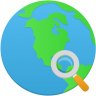 Search-globe icon