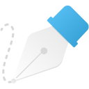 Freeform pen tool icon