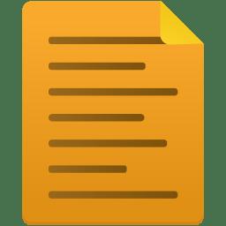 Note Icon Flatastic 6 Iconset Custom Icon Design