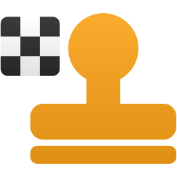 Pattern stamp tool icon