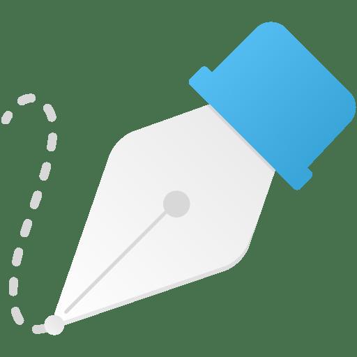 Freeform-pen-tool icon