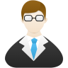 Teacher-male icon