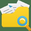 Open folder search icon