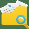 Open-folder-search icon
