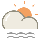 Lightfog day icon