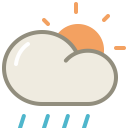 Lightshowers day icon