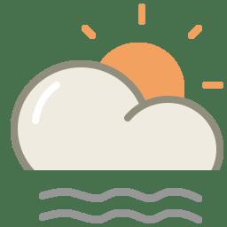 Lightfog day icon