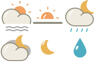 Lovely Weather 2 Icons